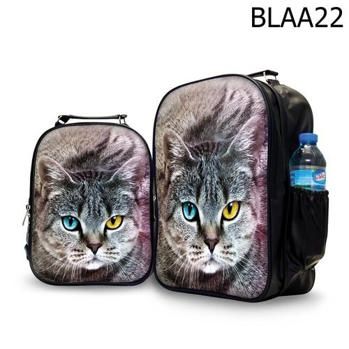 Ba lô nữ in hình mèo- blaa22