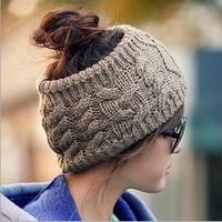 Mũ len nữ không chóp, kiểu dáng độc đáo trẻ trung, phong cách hàn
