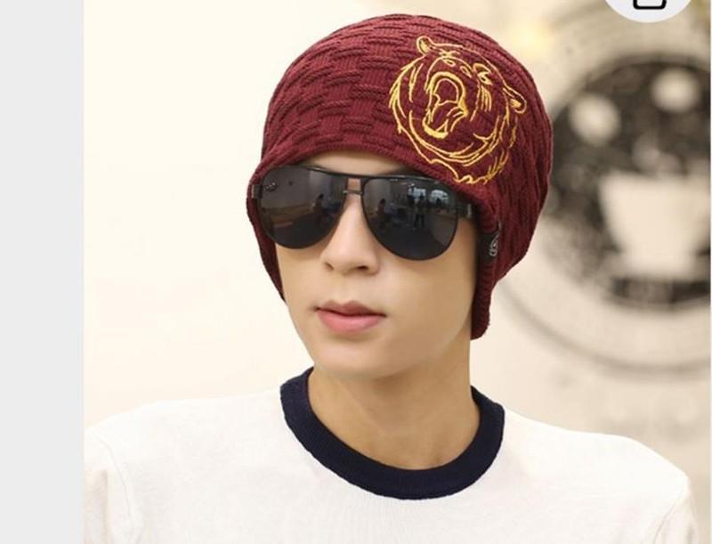 nón mũ len nam thời trang TIGER thiết kế mới mùa thu đông 1