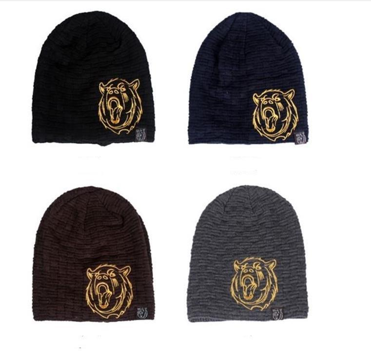 nón mũ len nam thời trang TIGER thiết kế mới mùa thu đông 5