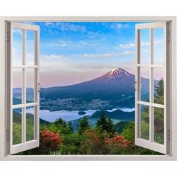 Tranh dán tường cửa sổ 3D CS-0151B