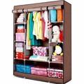 Tủ quần áo 3 buồng 8 ngăn -  khung nhôm