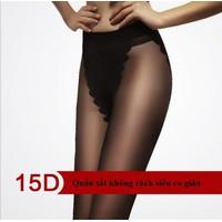 Quần tất chất liệu cotton không rách siêu co giãn kiểu Bikini 81005