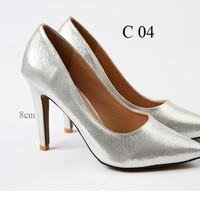 Giày Kim Tuyến Bạc Vatido C04