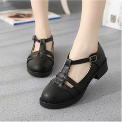 Giày Sandal nữ Retro quai gài phong cách Hàn Quốc - SG0111