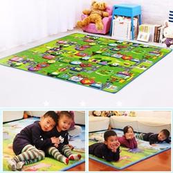 Thảm nằm chơi Maboshi 2 mặt chất liệu cao cấp