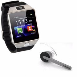 Đồng hồ điện thoại DZ09 và tai nghe bluetooth N7200