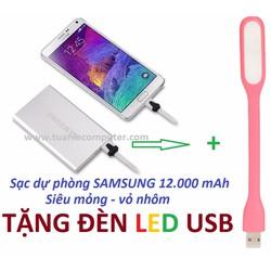Pin Sạc Dự Phòng Samsung 12.000 mAh Kiểu Dáng Thời Trang