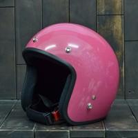 Mũ Bảo Hiểm Dammtrax Màu Hồng Bóng