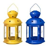 Đèn lồng nến ROTERA Lantern for tealight, assorted colours - IKEA