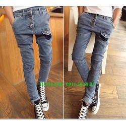 Quần Jean nam thời trang Hàn Quốc siêu hot 2015 - QJ2332