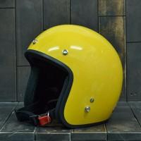 Mũ Bảo Hiểm Dammtrax Màu Vàng Bóng