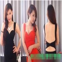 Đầm body cúp ngực 2 dây hở lưng sexy cho nàng DOV325