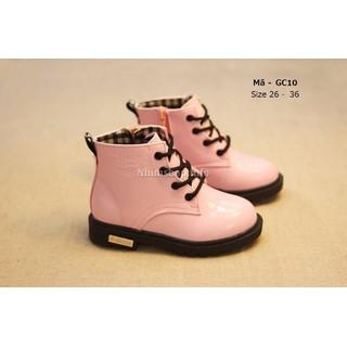 Bốt cho bé gái 3 - 12 tuổi màu hồng cổ cao kiểu dáng Hàn Quốc GC10 [ĐƯỢC KIỂM HÀNG] - 2449781 thumbnail