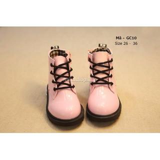 Bốt cho bé gái 3 - 12 tuổi màu hồng cổ cao kiểu dáng Hàn Quốc GC10 [ĐƯỢC KIỂM HÀNG] 2449781 - 2449781 thumbnail
