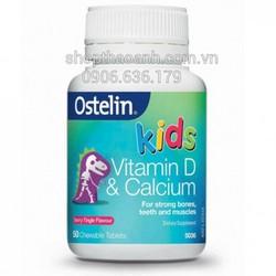 Bổ sung vitamin D và Calcium cho bé Ostelin Úc