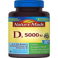Thực Phẩm Chức Năng VItamin D3 - 5000IU