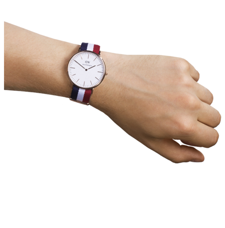 Đồng hồ nam nữ dây vải Daniel Wellington - DW - Mã số F1422 7