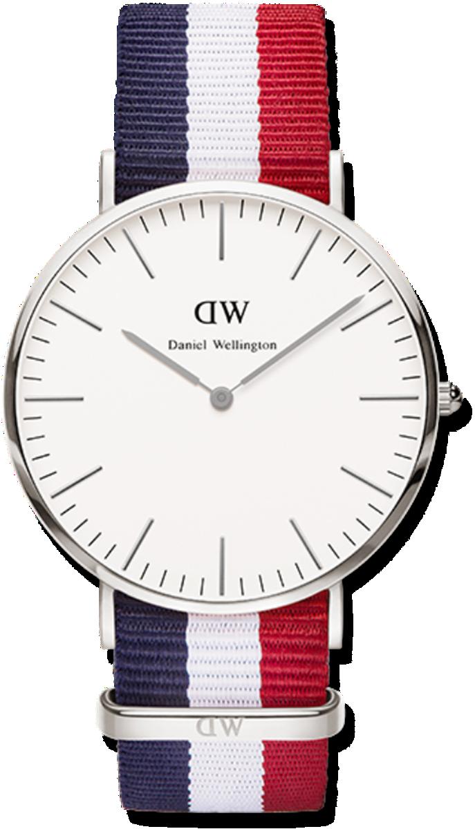 Đồng hồ nam nữ dây vải Daniel Wellington - DW - Mã số F1422 1