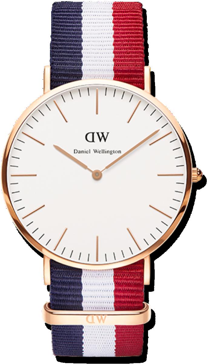 Đồng hồ nam nữ dây vải Daniel Wellington - DW - Mã số F1422 5