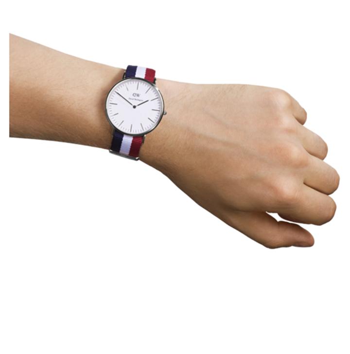 Đồng hồ nam nữ dây vải Daniel Wellington - DW - Mã số F1422 2