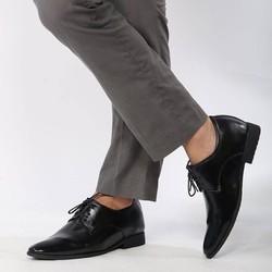Giày da công sở CS21.1 sang trọng, lịch lãm, đế tăng chiều cao 6,5cm