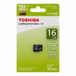 Thẻ nhớ Toshiba Micro SD Card Class 10 30ms 16GB