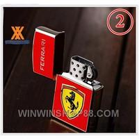 Hộp quẹt Ferrari v3 - Màu Bạc