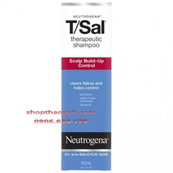 Dầu gội Neutrogena TSal điều trị gàu nấm viêm da tiết bã nhờn da đầu