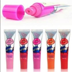 Set 3 Son xăm khóa màu môi WOW đến từ Hàn quốc...cực hot