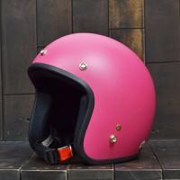 Mũ Bảo Hiểm Dammtrax Màu Hồng Nhám