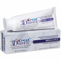 Kem đánh răng 3D Crest White Brillance 116g của Mỹ