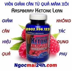 Viên giảm cân Raspberry Ketone Lean chiết xuất từ quả mâm xôi
