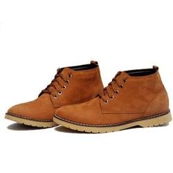 Giày da cao cổ thời trang, trẻ trung