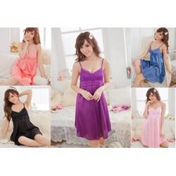 Đầm ngủ tiều thư L015