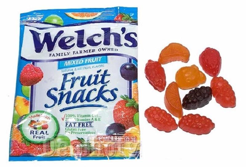 20 bịch Kẹo Dẻo Trái Cây Welchs 25.5g Mỹ 3