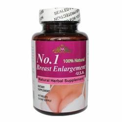 Thuốc Nở Ngực No.1 Breast Enlargement USA 60 viên