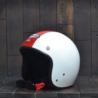 Mũ Bảo Hiểm Andes 111 Trắng.Đỏ