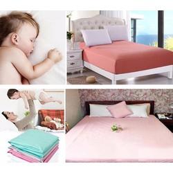 Drap giường chống thấm cao cấp 160x200x10cm