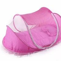 Bộ màn ngủ kèm đệm chống muỗi dành cho bé Happy baby
