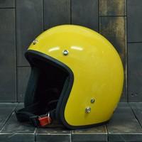 Mũ Bảo Hiểm Dammtrax Vàng