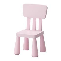 Ghế tựa trẻ em màu hồng MAMMUT