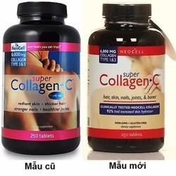 Viên uống Super Collagen + C loại 250 giảm lão hoá, làm đẹp da