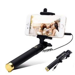 Gậy Chụp Hình Selfie Stick Có Nút Bấm Trên Thân