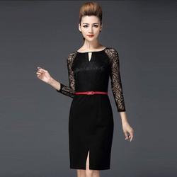 Đầm Ren Tay Lỡ Thời Trang