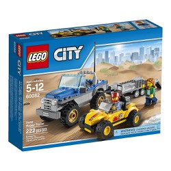 Đồ chơi lego city 60082 - City Dune Buggy Trailer
