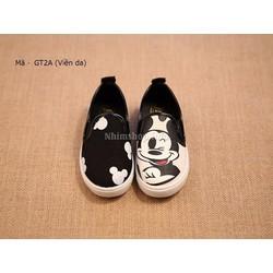 Giày mickey cho bé 1 - 6 tuổi hàng loại 1 viền da đẹp GT2A