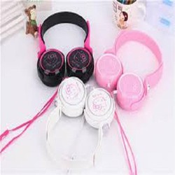 Headphone hello kitty kt 3.0 box cực hay cực kute