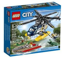 Đồ chơi xếp hình Lego City 60067 - Trực thăng truy đuổi