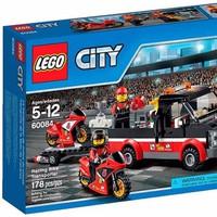 Đồ chơi xếp hình Lego City 60084 - Racing BIke Transporter